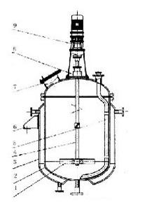 蒸汽加热不锈钢反应罐