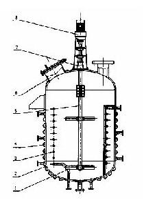 外盘管式不锈钢反应罐